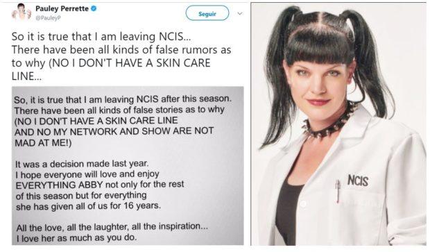 Abby Protagonista Deixa «Investigação Criminal» Após 15 Temporadas