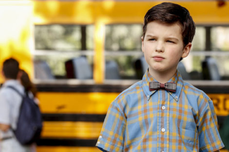 Young Sheldon1 Axn White Prepara Emissão Especial Dedicada A «Young Sheldon» E «The Big Bang Theory»