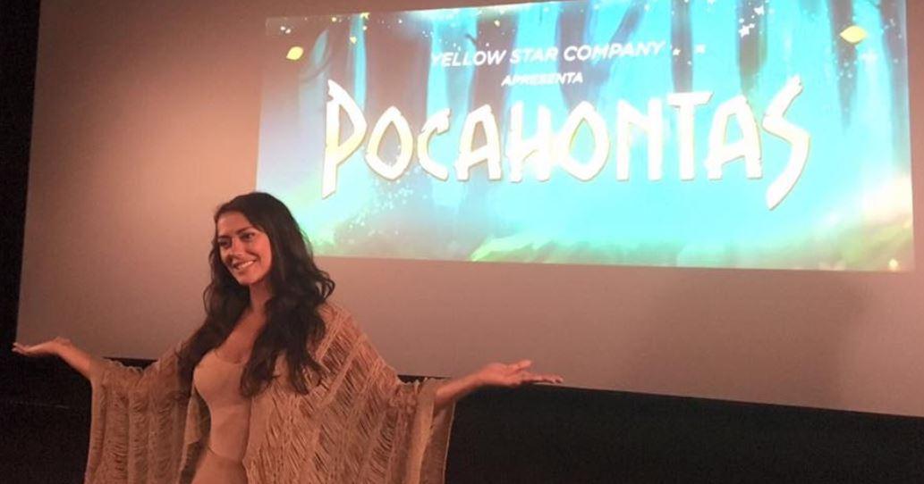 Pocahontas Sofia Ribeiro Dá Vida A «Pocahontas»