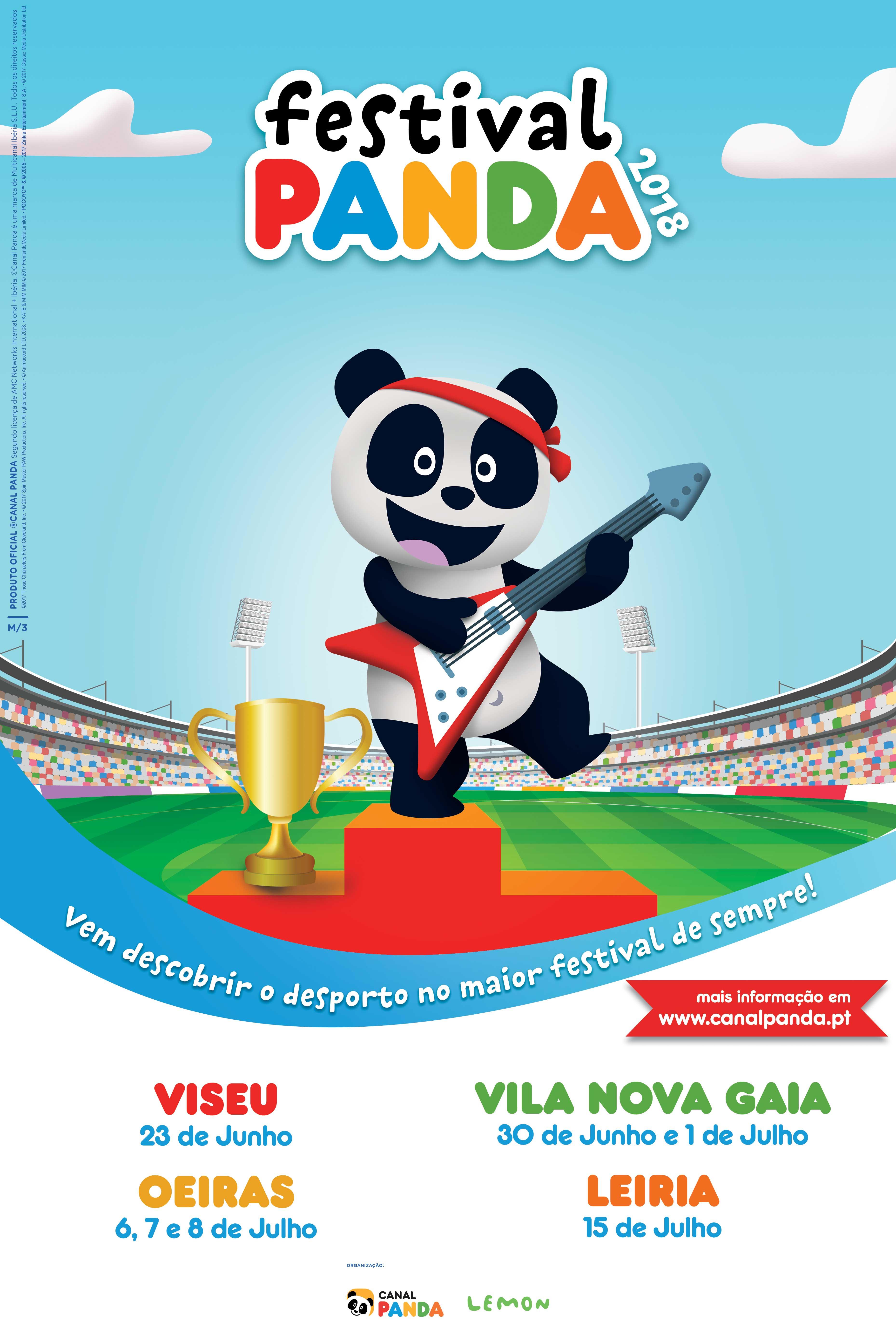 Festival Panda 2018 Está A Chegar A Edição De 2018 Do Festival Panda