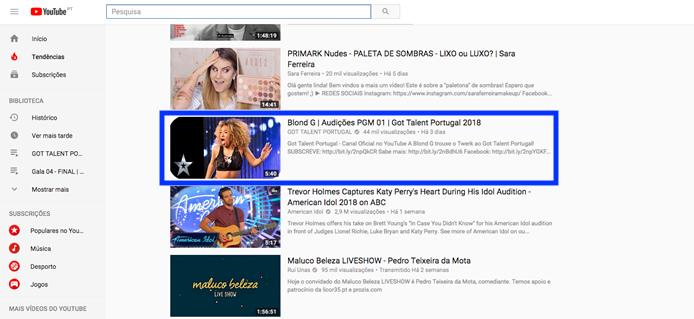 Blong Got Talent Portugal Got Talent Portugal No Top Das Tendências Do Youtube