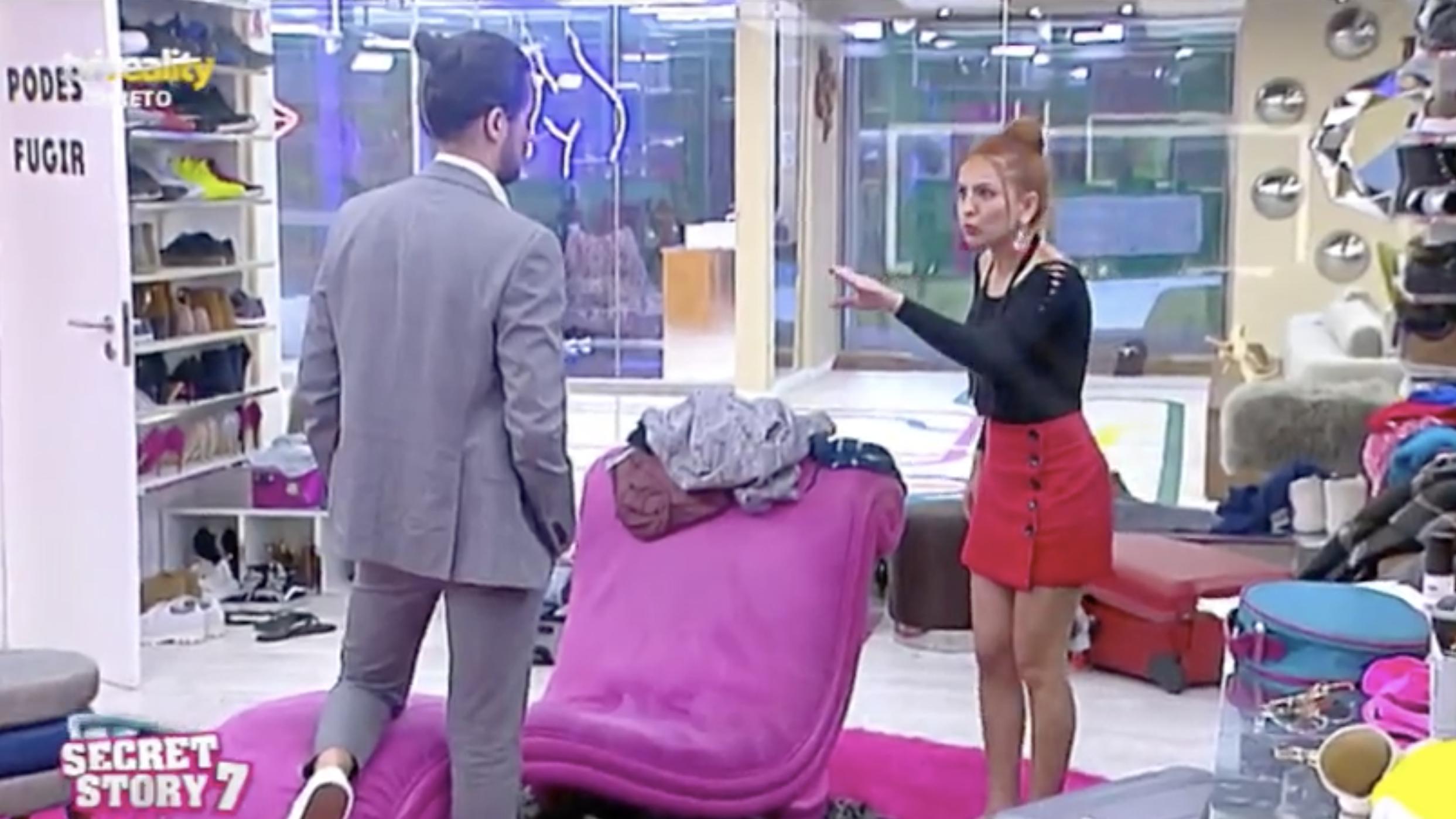 Gabriela Cesar Discussao «Casa Dos Segredos 7» Gabriela Confessa Que Era Mais Feliz Sem César