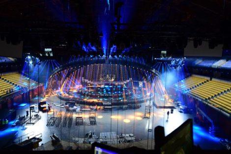 Apr18 Web012 «Eurovisão 2018»: Veja O Palco Da Altice Arena Em Ação