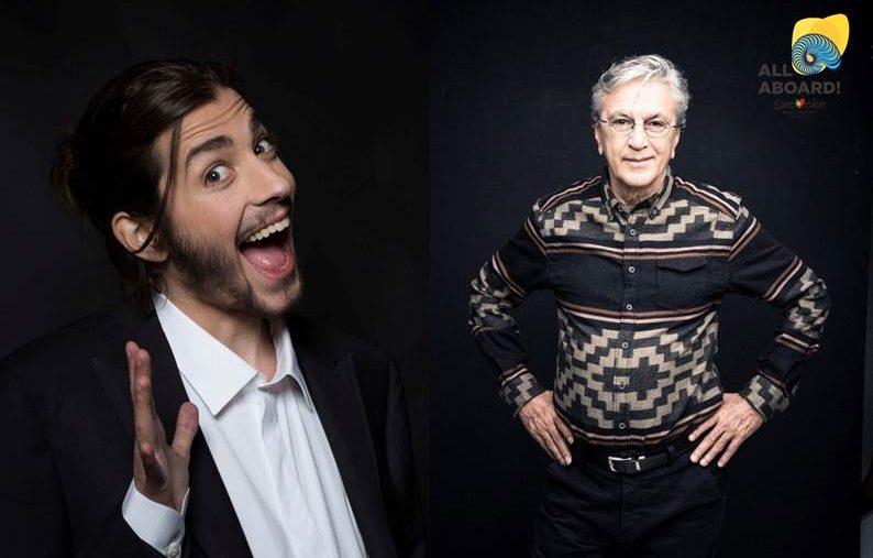 Image003 «Eurovisão 2018»: Salvador Sobral Partilha O Palco Com Cantor Brasileiro