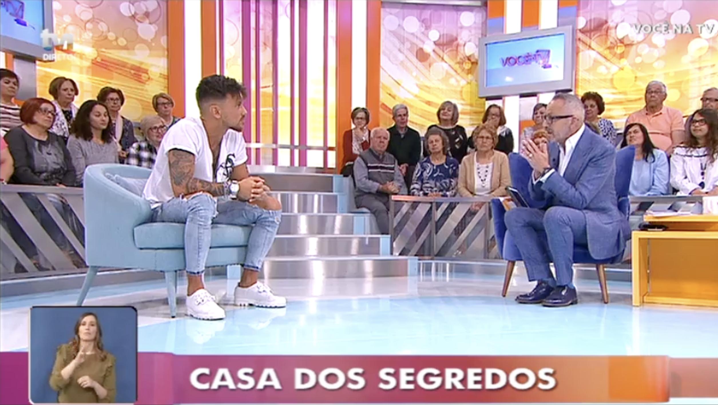 Nuno Voce Na Tv «Casa Dos Segredos 7»: Nuno Fala Dos Assuntos Mais Polémicos No «Você Na Tv»