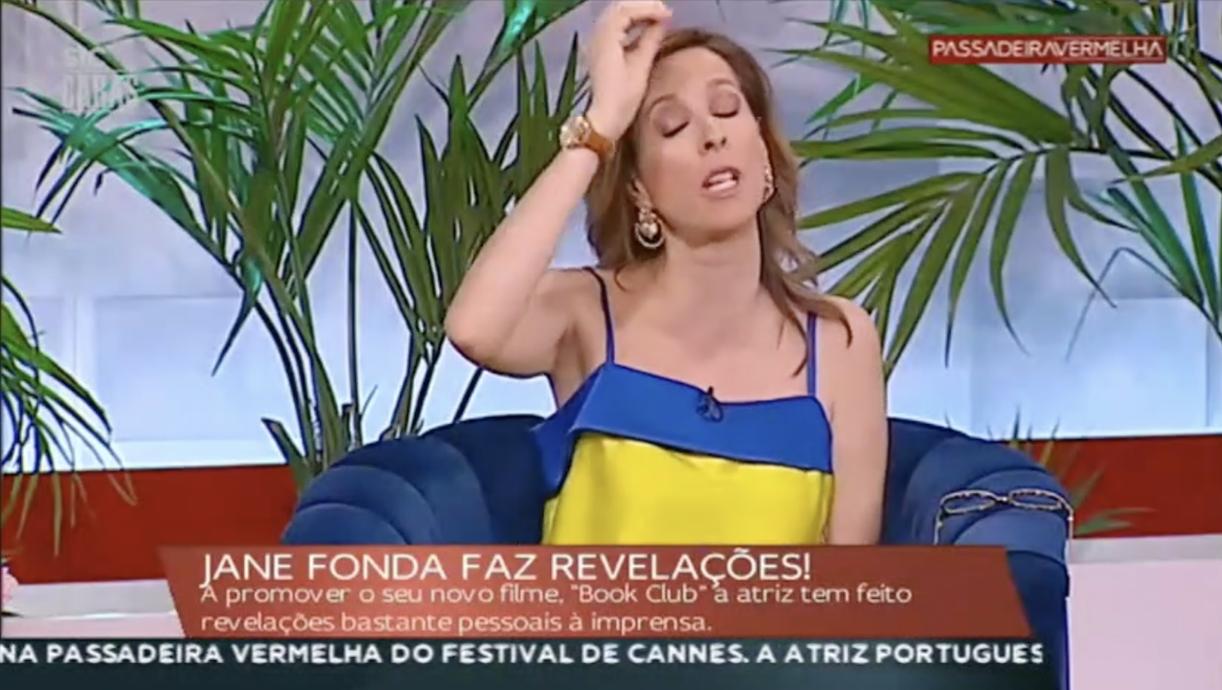 Ana Marques Passadeira Vermelha Ana Marques Irrita-Se Com Cláudio Ramos «Cala-Te!»