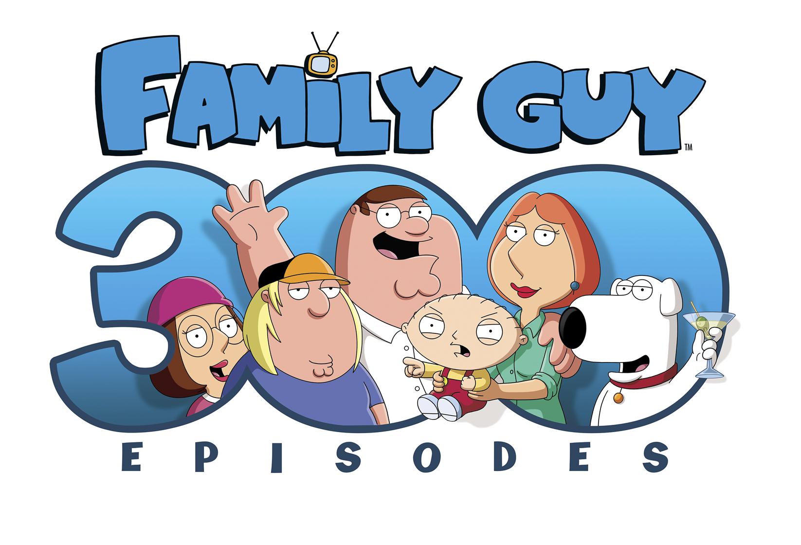 Family Guy 300 «Family Guy» Chega Ao Episódio 300 No Fox Comedy