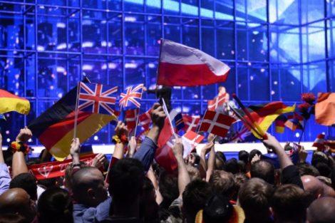 Flags At Eurovision Song Contest 2014 Rtp1 Transmite 1.ª Semifinal Do «Festival Eurovisão Da Canção 2018» Esta Noite