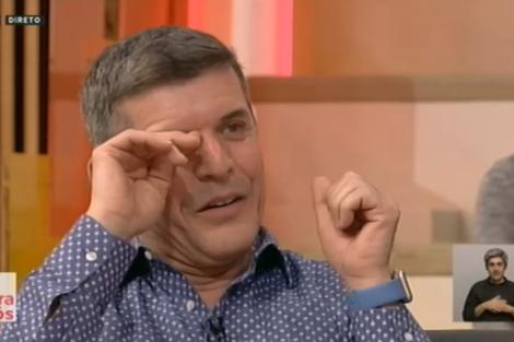 Joao Baiao Tania Ribas De Oliveira 6 Muitas Lágrimas. No Reencontro De João Baião E Tânia Ribas De Oliveira Na Rtp