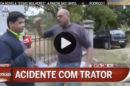 Jornalista Cmtv Atacado Repórter Da Cmtv Atacado Em Direto Por Popular. Veja O Vídeo