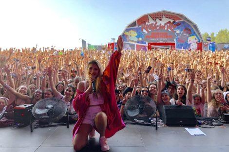 Barbara Bandeira Rock In Rio 1 Bárbara Bandeira Entra Directamente Para O 2º Lugar Do Top De Vendas