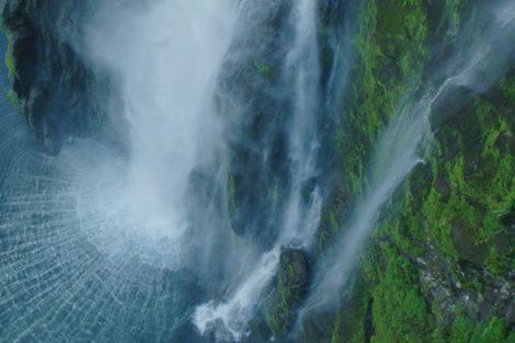 Nova Zelandia Vista Do Ceu Natureza Vista Do Céu No Odisseia