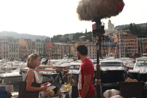 Peso De Alma Claudia Vieira Dania Neto Afonso Pimentel 11 Veja As Primeiras Fotos Das Gravações Na Nova Novela Da Sic Em Itália