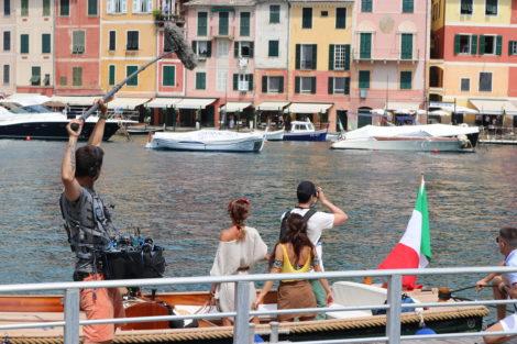 Peso De Alma Claudia Vieira Dania Neto Afonso Pimentel 6 Veja As Primeiras Fotos Das Gravações Na Nova Novela Da Sic Em Itália
