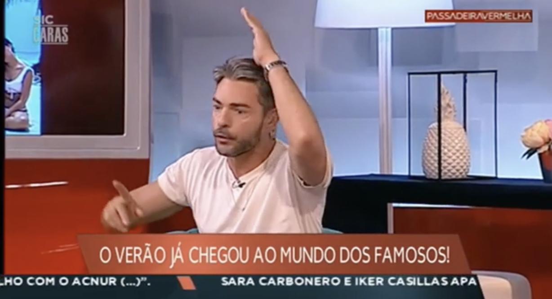 Bronca Claudio Ramos Grita Com Colegas Passadeira Vermelha 3 Cláudio Ramos Repreendido Pela Sic