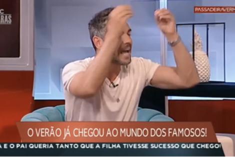 Bronca Claudio Ramos Grita Com Colegas Passadeira Vermelha 8 Bronca: Cláudio Ramos Passou-Se Em Direto E Grita Com Colegas