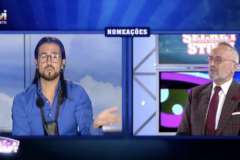 Casa Dos Segredos O Reencontro Cesar Nomeacao 2 César Revoltado Com A Sua Nomeação «Super Injusto»