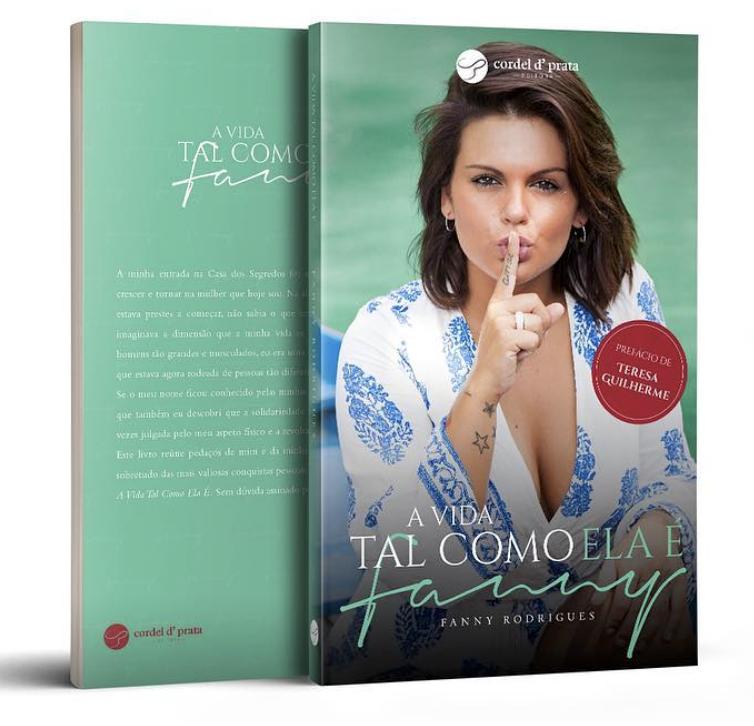 Fanny Rodrigues Lanca Livro Fanny Preparou Uma Surpresa Antes De Entrar Na «Casa Dos Segredos - O Reencontro»