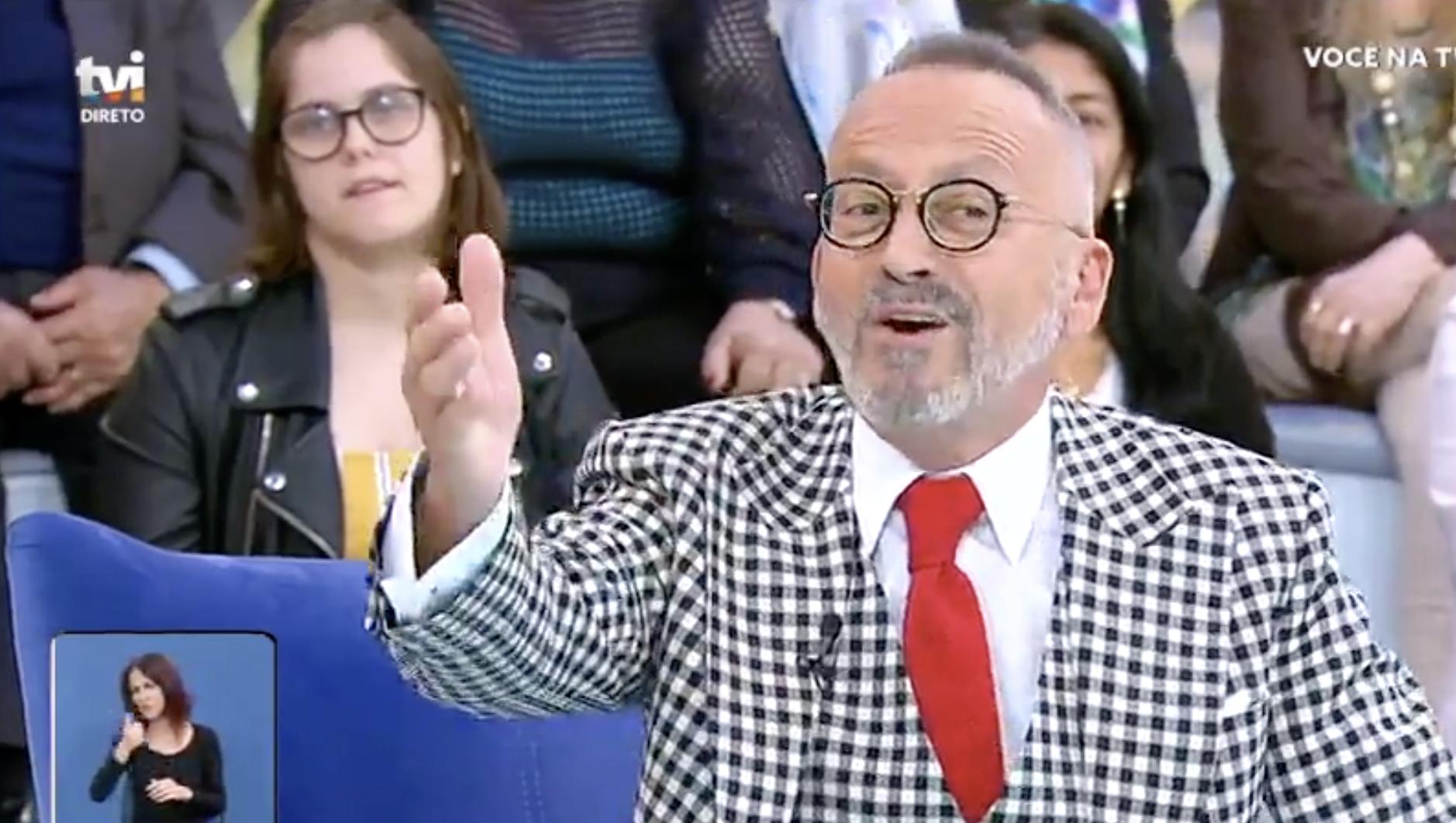 Manuel Luis Goucha Voce Na Tv Colinho Manuel Luís Goucha: «Essa Conversa Do Colinho Já Não Se Aguenta»