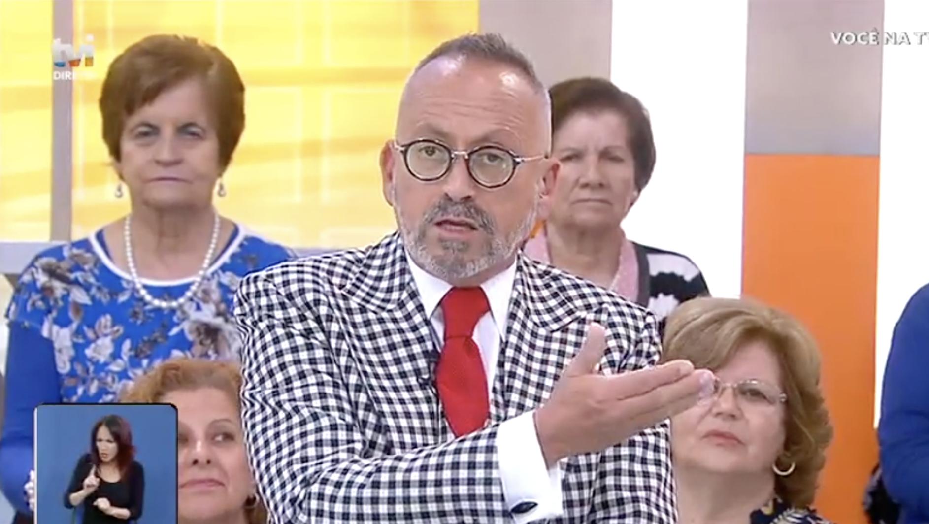 Manuel Luis Goucha Voce Na Tv Manuel Luís Goucha Bane Seguidora Em Direto