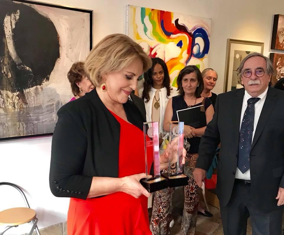 Premio Dina Aguiar Dina Aguiar E «Portugal Em Direto» Premiados