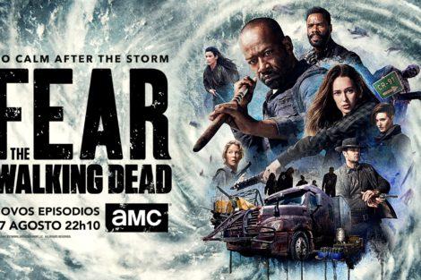 Fear The Walking Dead Amc Ftwd S4B Horizontal Pt Amc Revela Poster Da Segunda Parte Da T4 De «Fear The Walking Dead»