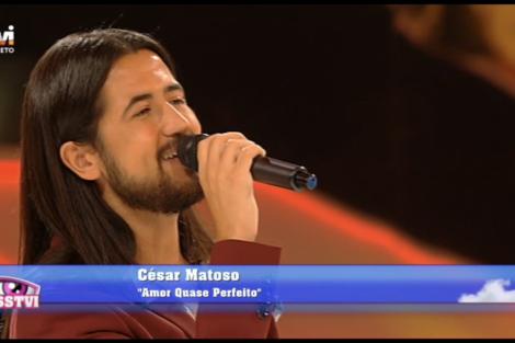cesar matoso amor quase perfeito César Matoso regressa aos palcos