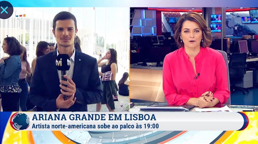 Emanuel Monteiro Jornalista Tvi Jornalista Da Tvi Espancado Por Colega De Trabalho