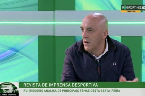 Rui Rigueiro Sporting Tv Comentador Da Sporting Tv Suicida-Se