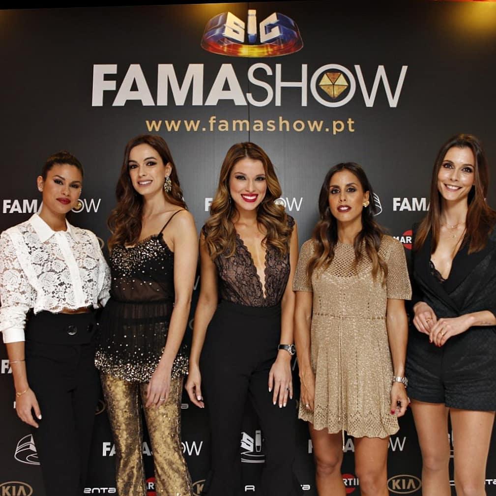 Fama Show «Fama Show» Perde Apresentadora