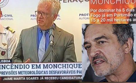 Rogerio Samora Incendio Monchique Rogério Samora Revoltado «De Gravata? Sr. Ministro, Vá Para Monchique»