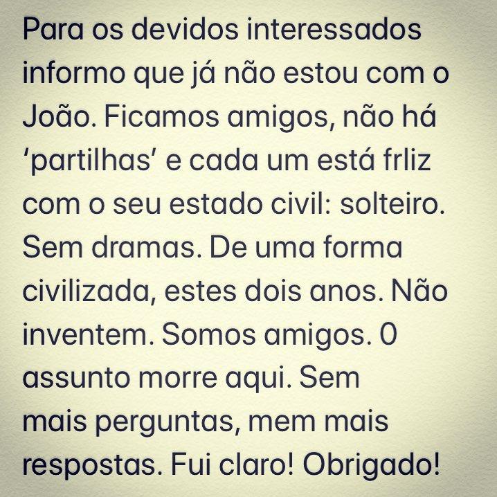 Jose Carlos Malato Comunicado Fim Namoro José Carlos Malato E João Caçador Terminam Namoro. Apresentador Da Rtp Emite Comunicado