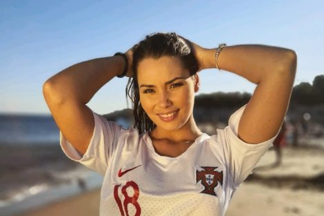 Margarida Aranha Love On Top Margarida Aranha Tira A Roupa Em Frente Aos Colegas «É Audiências Para O Canal 12»