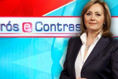 Pros E Contras Fatima Campos Ferreira Fátima Campos Ferreira Reage Ao Fim Do «Prós E Contras»