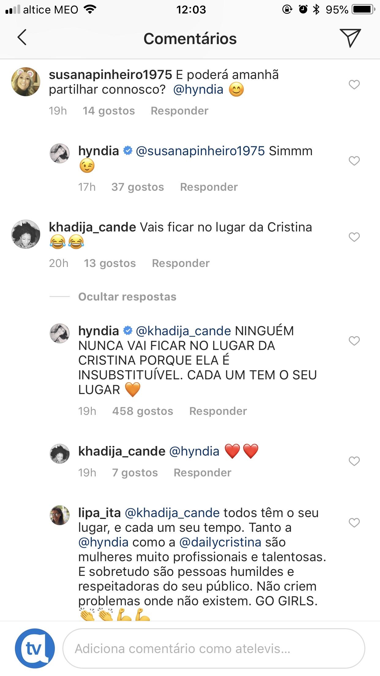 Rita Pereira Cristina Ferreira Hoje É Um Dia Especial Para Rita Pereira
