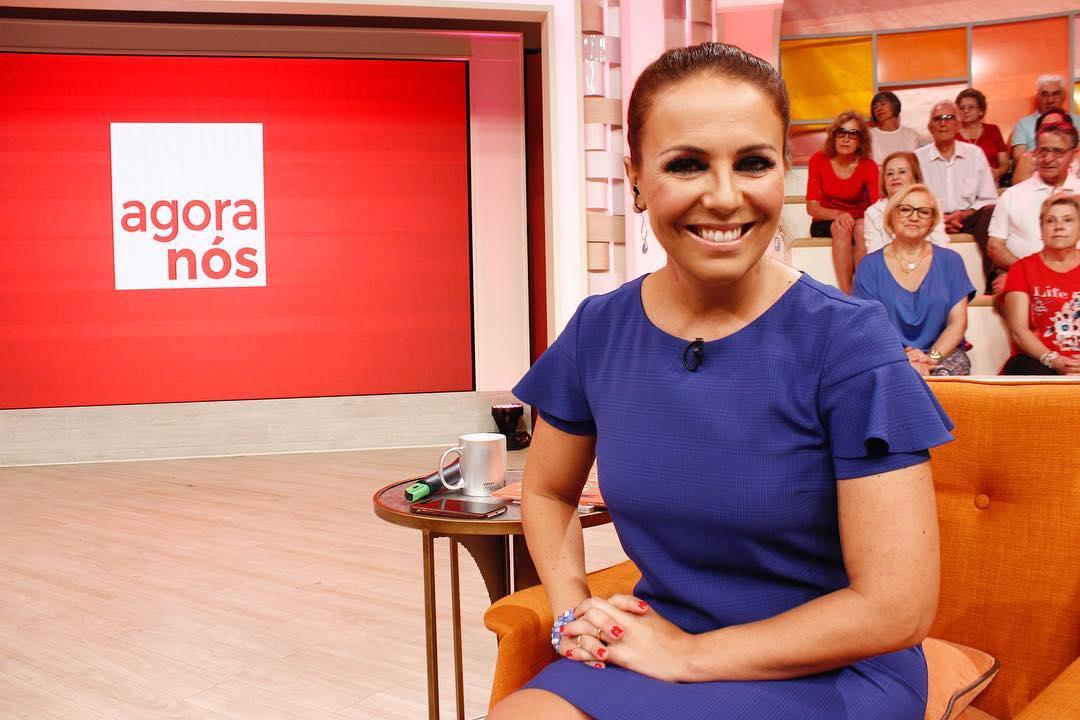 Tania Ribas De Oliveira 2 Tânia Ribas De Oliveira Feliz Por «Agora Nós» Continuar