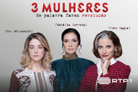 3 Mulheres Serie Rtp «3 Mulheres». Protagonistas Comentam A Nova Série Da Rtp