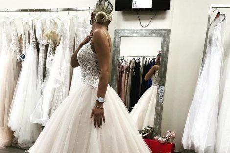 cristiana jesus vestido noiva 3 Cristiana Jesus da «Casa dos Segredos» já escolheu o vestido de noiva