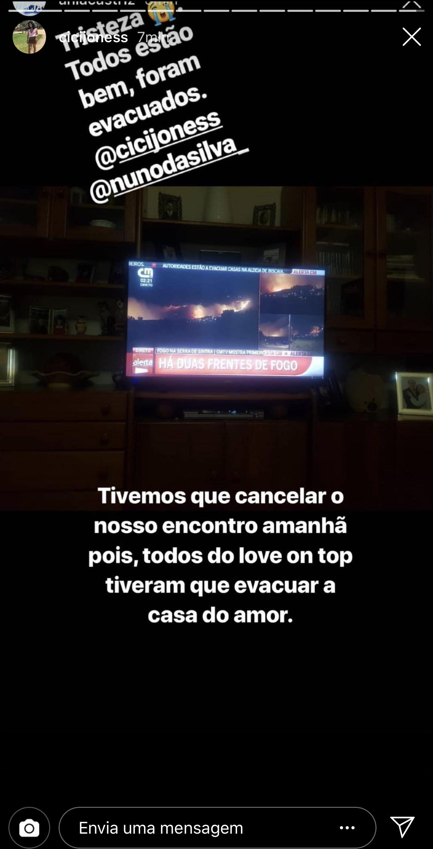 Incendio Sintra Casa Love On Top 1 Incêndio De Sintra Perto Da Casa Do «Love On Top». Concorrentes Foram Evacuados