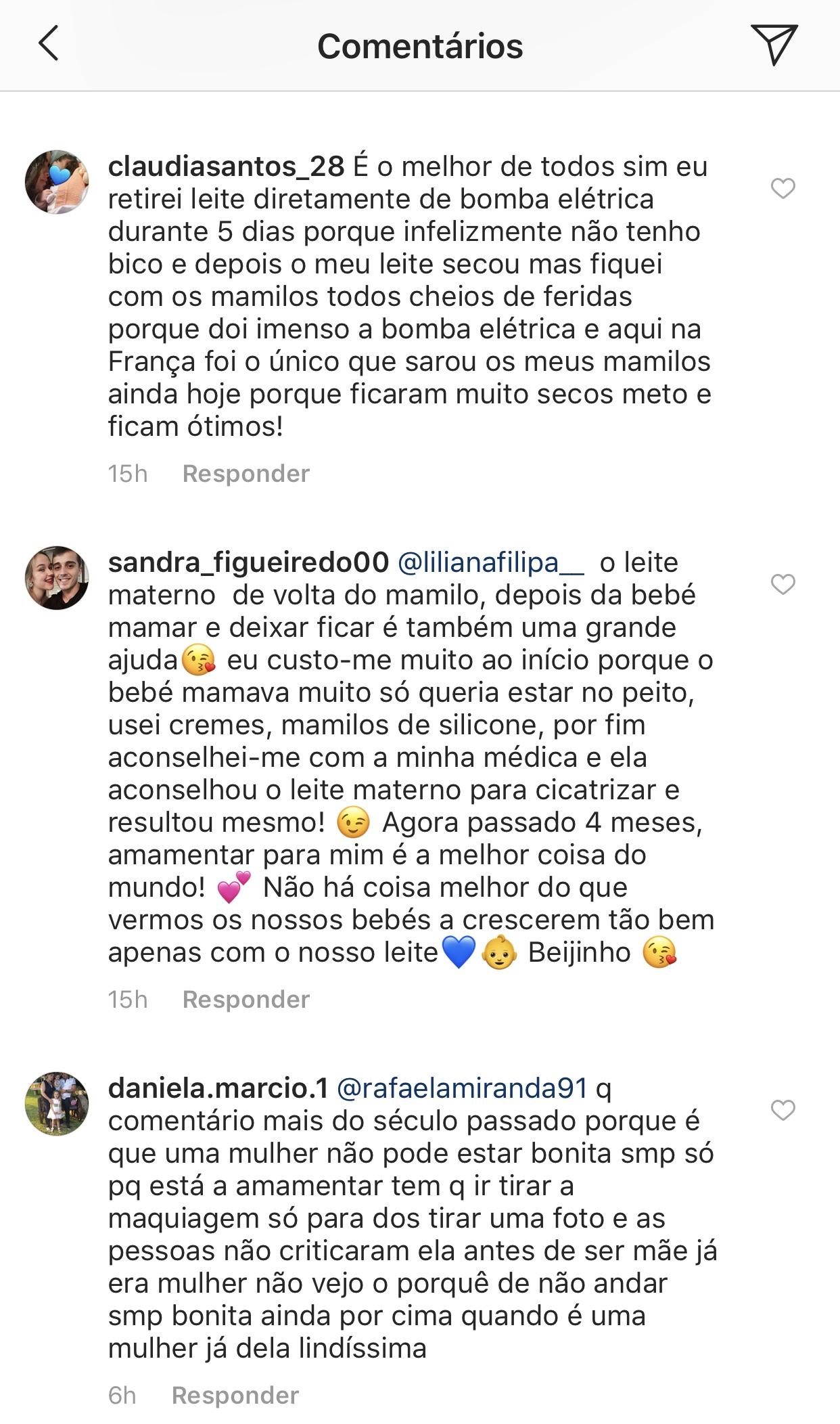 Liliana Filipa Amamentar Ariel Criticada 1 Liliana Filipa Revela Dificuldade Com A Filha E É Criticada