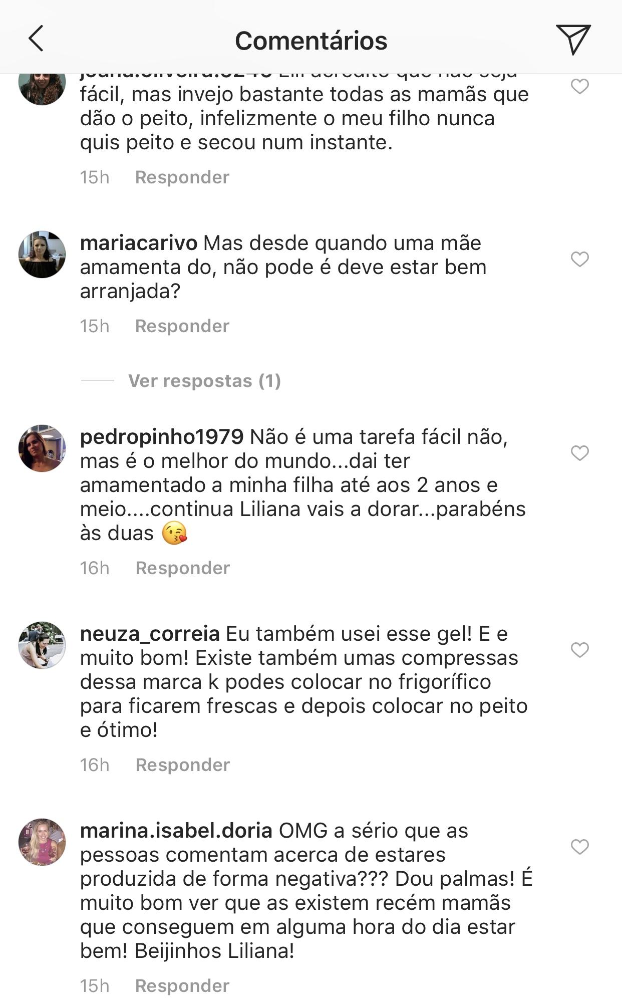 Liliana Filipa Amamentar Ariel Criticada 2 Liliana Filipa Revela Dificuldade Com A Filha E É Criticada