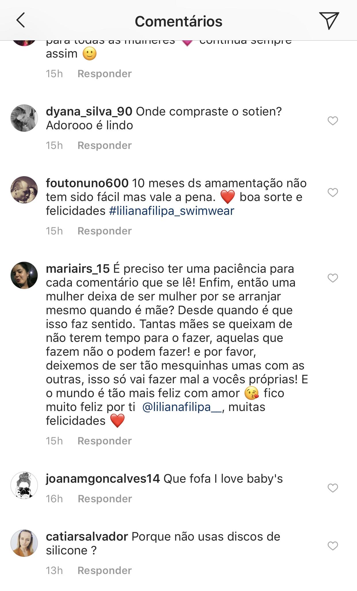Liliana Filipa Amamentar Ariel Criticada 3 Liliana Filipa Revela Dificuldade Com A Filha E É Criticada