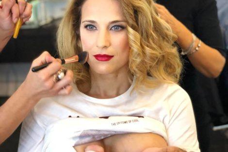 Luisa Barbosa Aura 1 Luísa Barbosa Amamenta Filha Enquanto É Maquilhada Nos Estúdios Da Sic