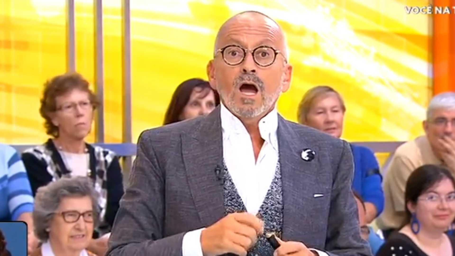 Manuel Luis Goucha Boca Aberta Voce Na Tv Tvi Define Data Para Estrear O Renovado «Você Na Tv!»