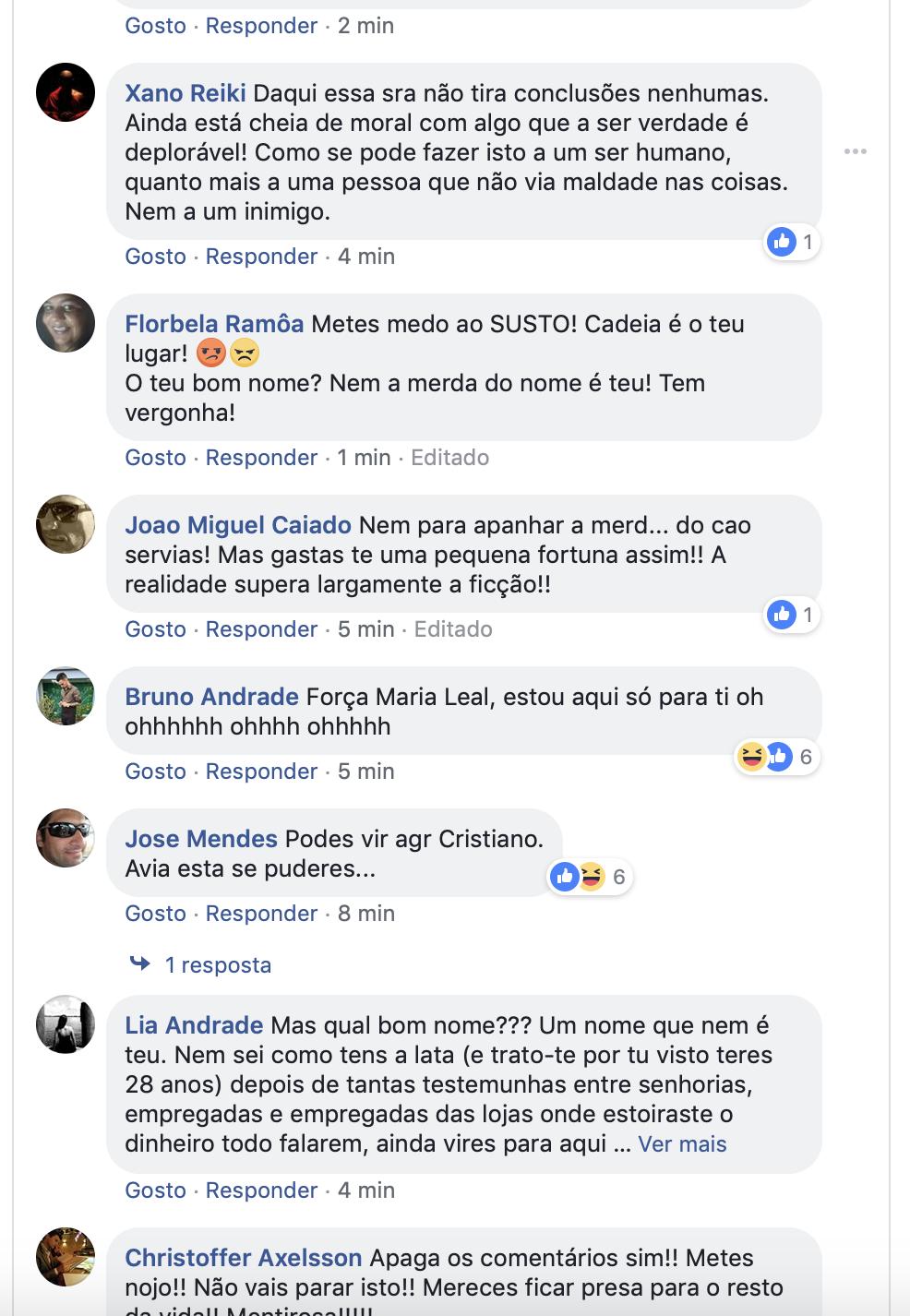 maria leal arrasada insultada polemica vidas suspensas 3
