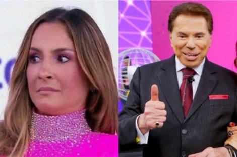 Claudia Leitte E Silvio Santos Teleton Claudia Leitte Assediada Por Apresentador De Tv Em Pleno Direto