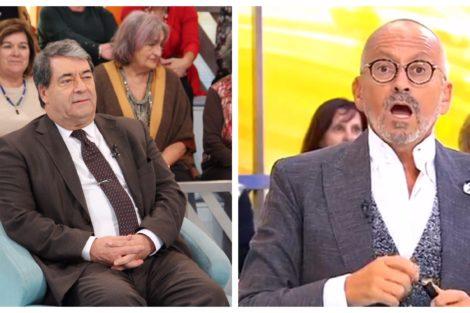 Marinho Pinto Manuel Luis Goucha Marinho Pinto Chama &Quot;Sirigaita&Quot; A Cristina Ferreira E Goucha Reagiu
