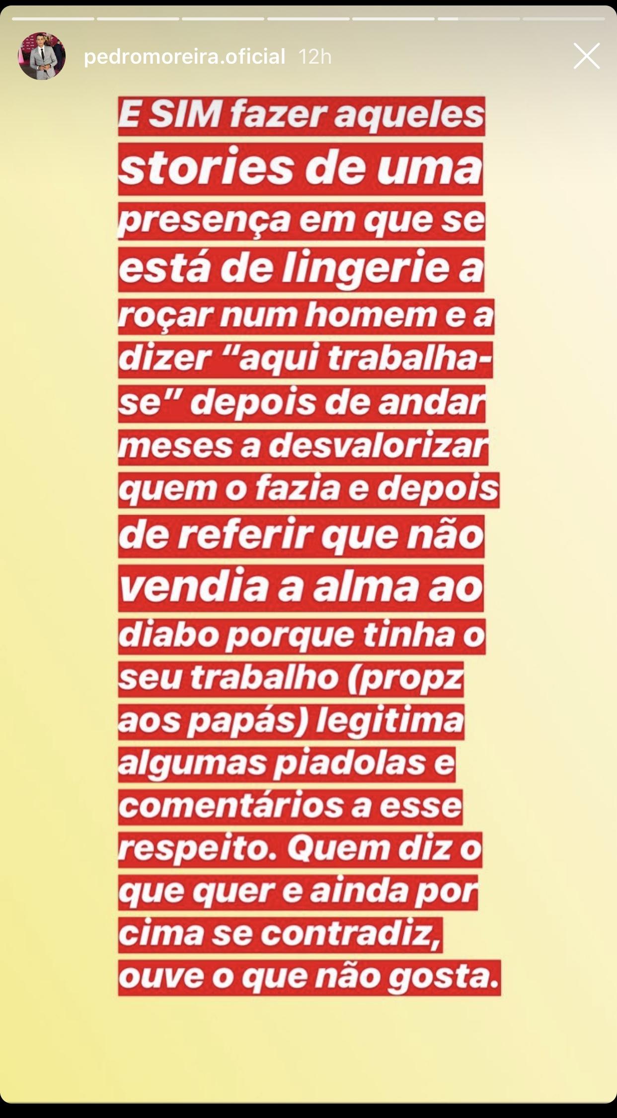 Carina Ferreira Joao Pedro Moreira Casa Dos Segredos Insultos 3 Carina Ferreira E Pedro Moreira Trocam Várias Acusações