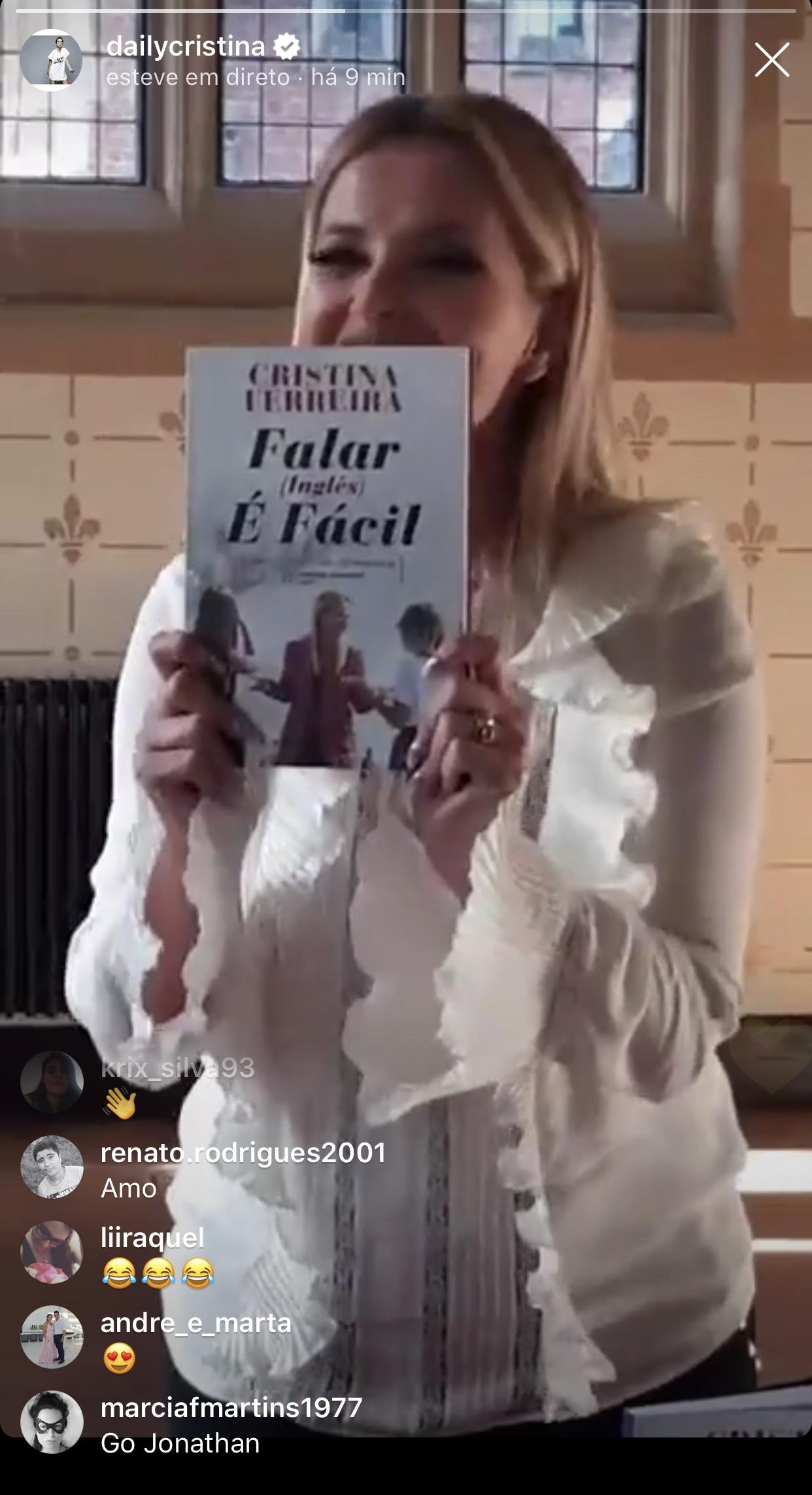 cristina ferreira livro falar ingles ainda e mais facil