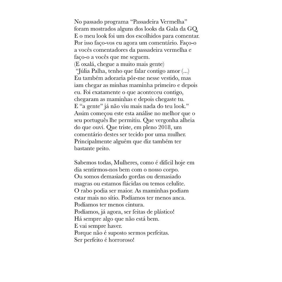 Julia Palha Arrasa Joana Latino 2 Júlia Palha Arrasa Comentadora Da Sic Joana Latino